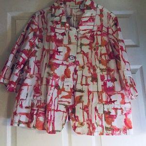 Pink/ white ladles jacket